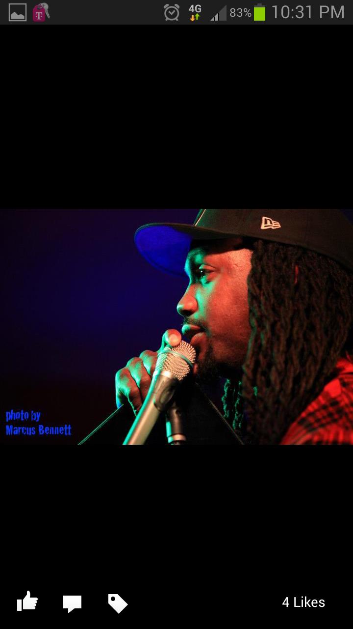 Spoken Word Artist Orville the Poet Photo Credit: Marcus Bennett