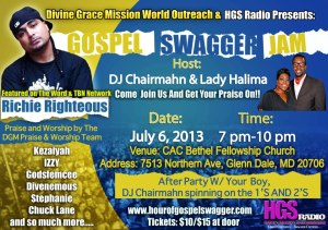 HGS RADIO GOSPEL SWAGGER JAM!!